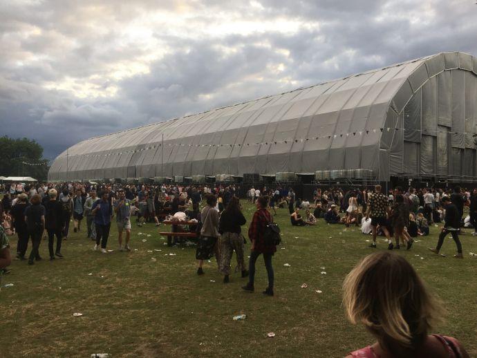 Aphex Twin Tent