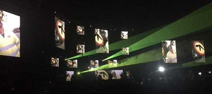 Aphex Twin Video Screens